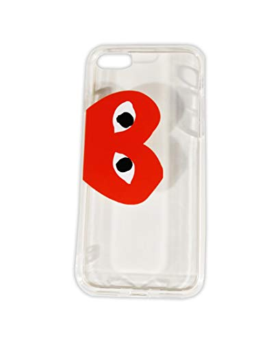 Comme des Garcons CDG Play Red Heart Logo Transparent Color PVC iPhone 7 Plus | iPhone 8 Plus Mobile Phone Case
