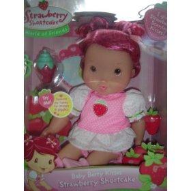 Playmates Strawberry Shortcake Baby Berry Kisses - Berry Doll Baby Shortcake Strawberry