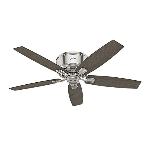 Hunter Fan Company 53394 Ceiling Fan, Large, Brushed Nickel