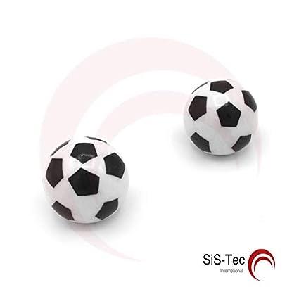 Tapones de válvula de plástico para balón de fútbol, color negro ...