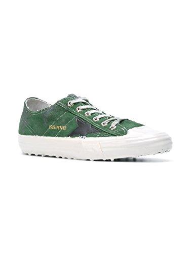 Golden Goose Sneakers Uomo G29MS639F9 Camoscio Verde