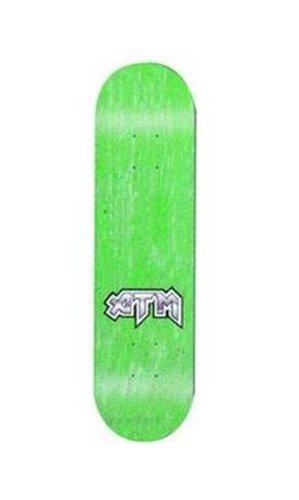 Amazon com : ATM Blank Mini Logo Skateboard Deck (7 75