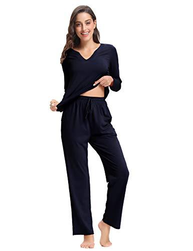 Algod Aibrou Pijamas Mujer Mujer Aibrou Pijamas gf8ZFqv