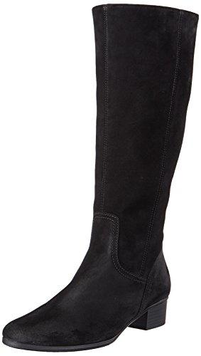 17 Schwarz Schwarz Damen Stiefel Gabor 17 Basic Yqf0aw7