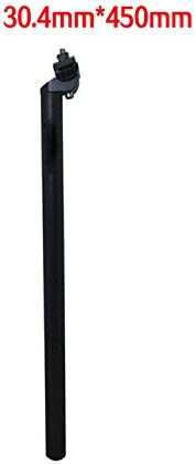 Extra Long 450mm Seatpin Seatpost 27.2mm for MTB Road Mountain Bike Black