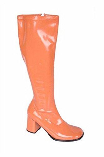 Gogo 3 Stretch Knä Boot, Fushia Patent Storlek 12