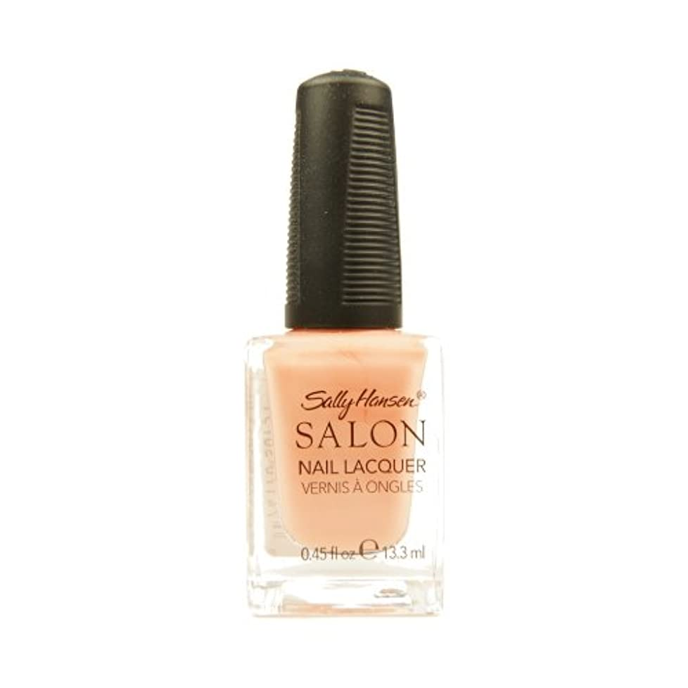 お茶コントローラ国SALLY HANSEN Salon Nail Lacquer 4120 - Peachful Breeze (並行輸入品)