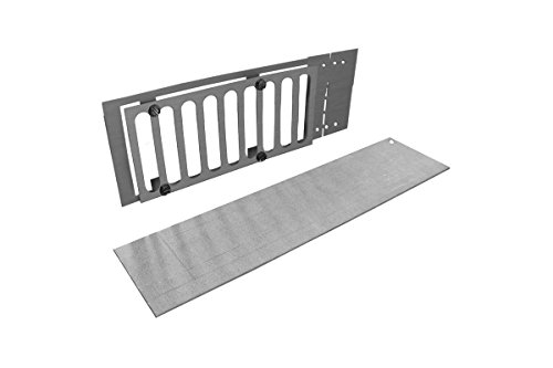 Firegear Paver Vent Kit with Mounting Plate and Lintel (PAVER-VENT-4-LNTS), 3.625 x 8-Inches