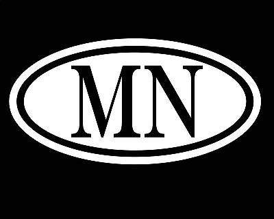Minnesota Sticker Mn Decal Car Truck Window Vinyl Love USA America Great Lakes -