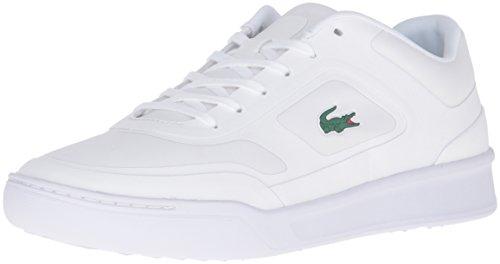 Lacoste Mens Explorateur Sport 316 1 Spm Fashion Sneaker Bianco
