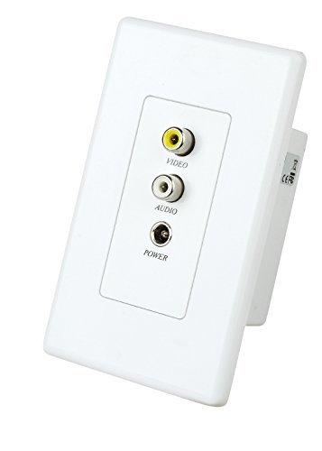 - Composite Video Audio & Power Extender Balun over single Cat5 300M 985ft includes sender / receiver