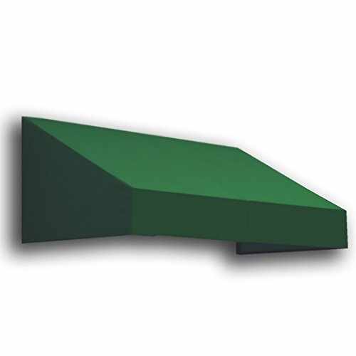 Awntech 3-Feet New Yorker Window/Entry Awning, 24-Inch Height by 48-Inch Diameter, Forest Green