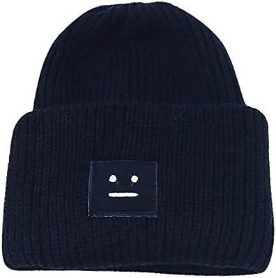 TwoCC-Sombrero de punto, gorro de lana versátil, capucha suave y ...