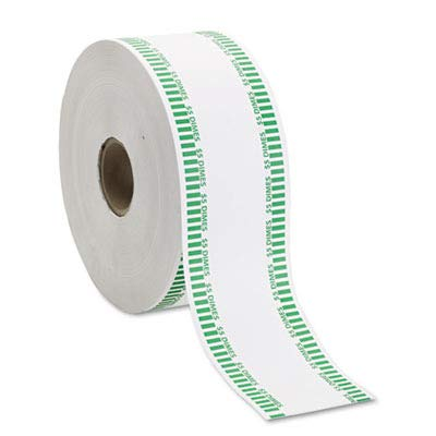 cts - MMF Industries - Automatic Coin Flat Wrapper Rolls, Dimes, $5, 1900 Wrappers/Roll - Sold As 1 Roll - Can be used in most automatic counting and wrapping machines. - Color coded. - ()