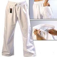 Gladiator ProForce 8oz Combat Karate Pants white size 4 - Proforce Karate Pants