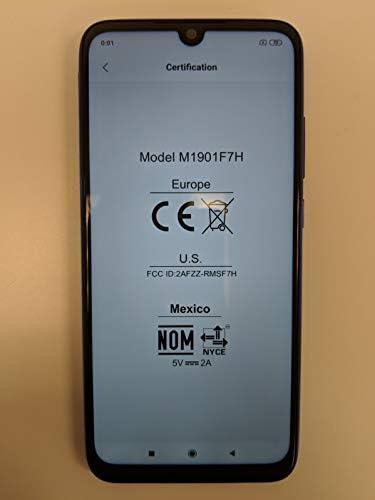 Xiaomi Redmi Note 7, 64GB/4GB RAM, 6.30 FHD+, Snapdragon 660, Blue - Unlocked Global Version, No Warranty