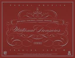 National Treasures Football Hobby Box (2014 Panini National Treasures NFL Football box (8 cards) Hobby Pack)