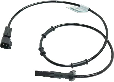 Equinox 2010-2017 Front Right Side 2 Male Blade-Type Terminals ABS Speed Sensor compatible with GMC Terrain 2010-2016