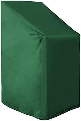 WOLTU Funda para Muebles de Jardín Cubierta Protectora Exterior de Polvo para Mesa contra Viento Lluvia Sol Protección UV Impermeable Verde GZ1192gn: Amazon.es: Hogar