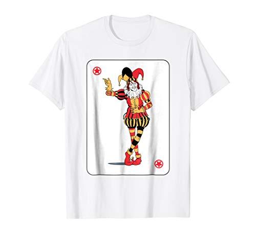 Joker Deck of Cards T-Shirt Group Halloween Costume Idea