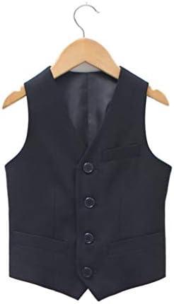 【Grace Bubble】フォーマル 男の子 子供服 ベスト キッズ フォーマルスーツ 無地 紳士服