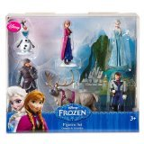 Disney Frozen 6 pc Figurine Figure Set Sven, Hans, Anna, Elsa, Kristoff and -