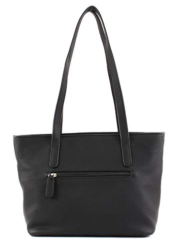 Mujer Bolso Negro Mhz Shopper Weber black Different Talk Gerry Ii vnpwT10qq