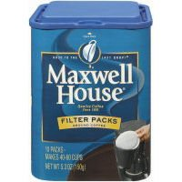 Maxwell House Gound Coffee - 10 filter packs per container, 12 containers per case (Coffee Roasted Maxwell)