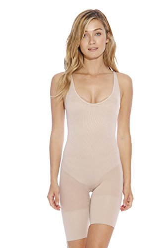 S10015-Nude-S/M Christian Siriano New York Shapewear Bodysuits
