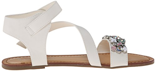 887865285076 - Madden Girl Women's Kandis Sandal, White/Multi, 8.5 M US carousel main 6