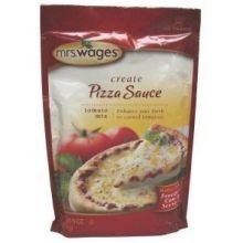 Mrs. Wages Pizza Sauce Tomato Canning Mix, 5 Ounce Package (VALUE case of 12 Packages)