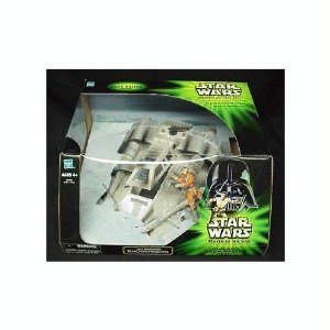 Price comparison product image Star Wars Power of the Jedi Luke Skywalkers Snowspeeder with Dack Ralter