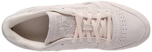 Pinkmatte Shimmer Grey Pink Leather Women's Trainers Classic 4 Reebok Pale UK Silverchalk nxAwvOqB7