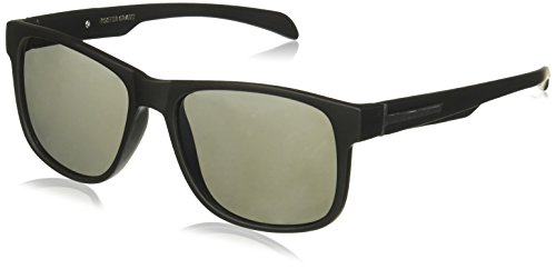Foster Grant Men's Ramble Wayfarer Sunglasses, Black, 158 - Sunglasses For Foster Men Grant