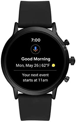 Fossil Smartwatch Pantalla táctil para Hombre de Connected con Correa en Acero Inoxidable