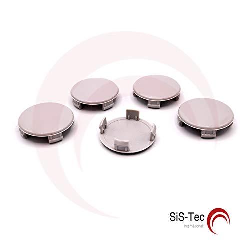 Copricerchi per mozzi e cerchioni, 56,0 mm – M57 – grigio (5 pezzi) 0 mm - M57 - grigio (5 pezzi) SiS-Tec