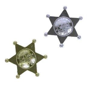Plastic Deputy Sheriff Badges (12 ct) (12 per package)]()
