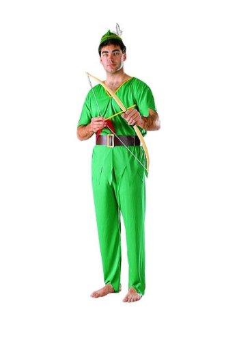 RG Costumes Men's Elf, Green, One Size -