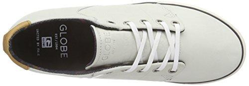 GlobeLos Angered Low - Zapatillas Unisex adulto Blanco - blanco (blanco)