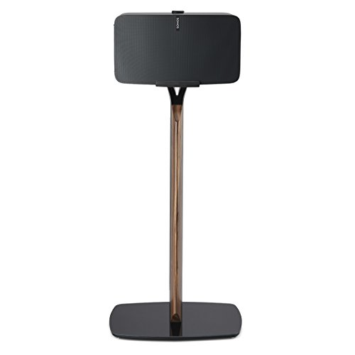 Flexson Premium Floor Stand for Sonos PLAY:5 (Black Walnut) by Flexson