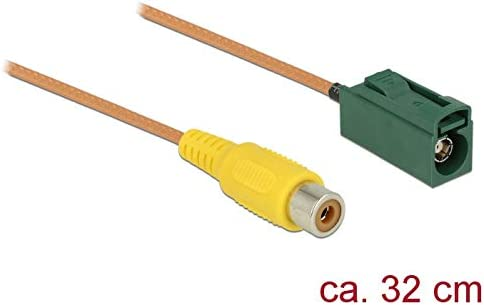 DeLOCK 89653 - Cable coaxial (FAKRA E, RCA, Derecho, Derecho, RG ...