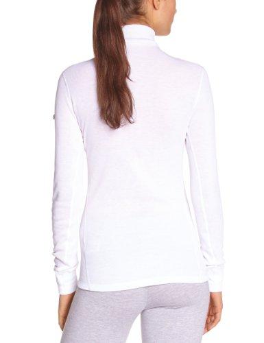lunghe Shirt Odlo Bianco a T maniche donna Bianco calda per UZqn50xqpw