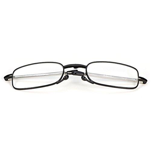 lettura pieghevole negro da Donna e Occhiali Unisex uomo Mini Inlefen R1xHH0