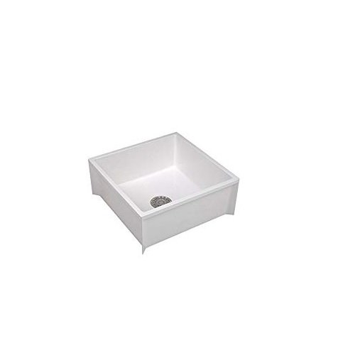Mustee 63M Mop Sink, White - Mount Sink Mop Floor