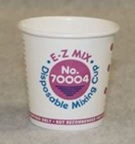s - 1//4 Pint Cups 400 E-Z Mix EZX70004 Disposable Paper Mixing Cup