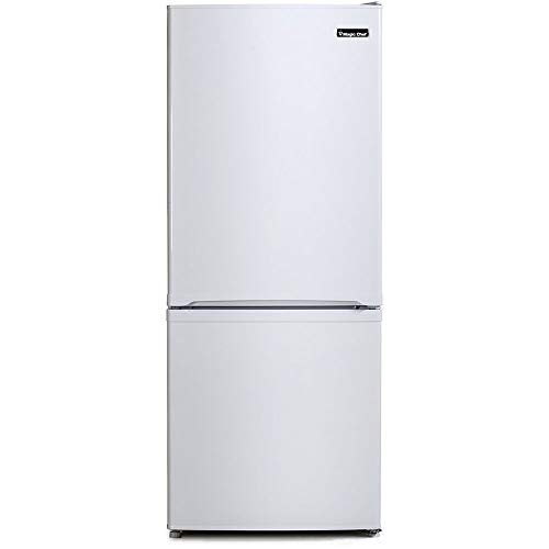 White Bottom Freezer Refrigerator - Magic Chef Energy Star 9.2-Cu. Ft. Refrigerator with Bottom-Mount Freezer in White