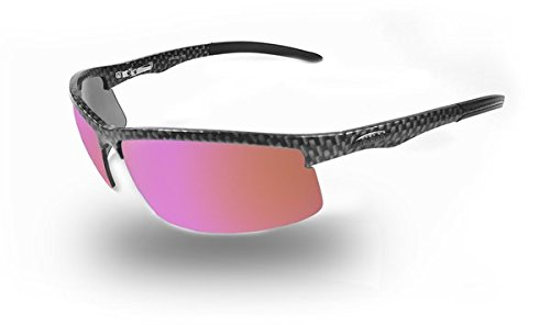 7ed8449b83 Amazon.com  NEW ICICLES Cylinder HD Road Lens Sunglasses with Carbon Fiber  Frame  Clothing