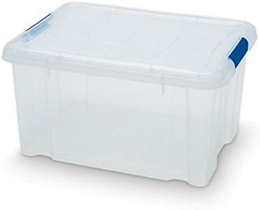 Plastic Forte - Caja de ordenación n 1 16 litros: Amazon.es: Hogar