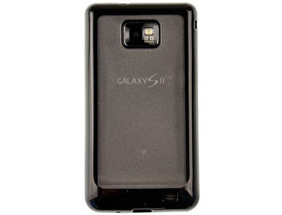 Flexible Plastic TPU Phone Protector Case Cover Clear For Samsung Galaxy S II S2 AT&T