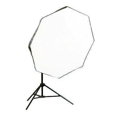 【照明機材専門店 PHOTO TOOLS】 100cmオクタゴンソフトライトボックス スタンドセット   B008JC269O